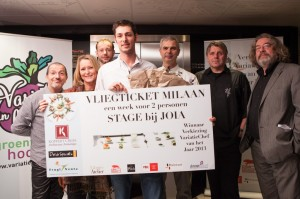 Winnaar Takis Panagakis van Restaurant Mazie in Den Haag